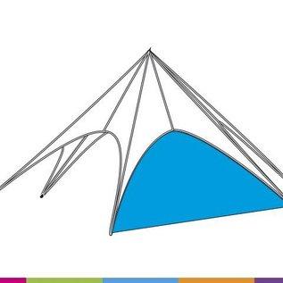Sidewall startent - standard color - ST40 (13M) KR (Velcro)
