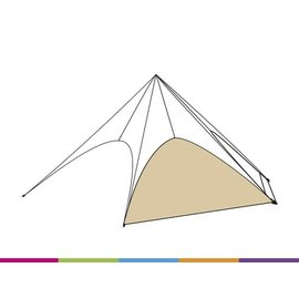 Sidewall startent - Sand(p468) - ST80 (17M)- KR (Velcro)