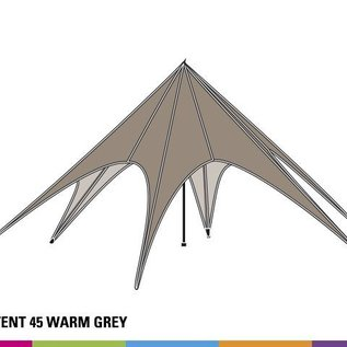 Sidewall startent - Warm grey - ST45 (14M) - KR (Velcro)