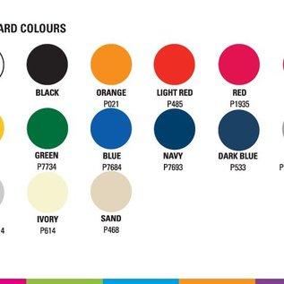 ZIJWAND 2m kleur