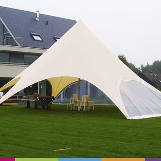 Sidewall startent - Panorama window -  Warm grey - ST45 (14M)- KR (Velcro)