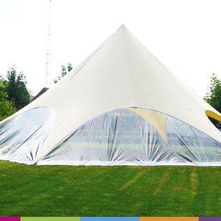 Zijwand Startent - Panoramavenster - Standaard kleur - ST40 (13M)- KR (Velcro)
