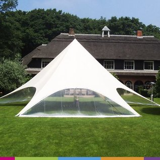 Sidewall startent - Panorama window  -  White ST40 (13M) KR (Velcro)