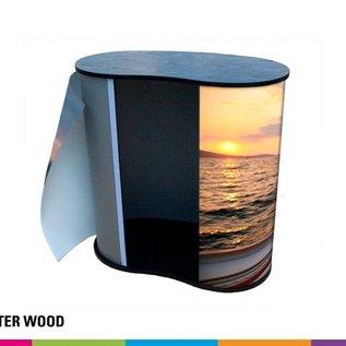 Counter balie bedrukken - wood