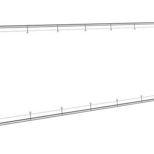 Wandframe op maat (incl doek): Frame 48mm + doek PVC