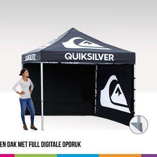 2x2M VOLANT EN DAK MET FULL DIGITALE OPDRUK