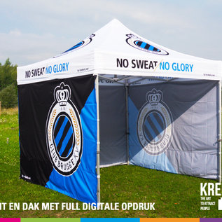 3x3M TENT - ROOF AND VALANCE FULL COLOUR PRINTED