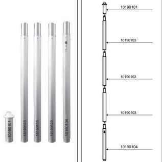 Startent double 70 (19M lengte) -  Full digitaal bedrukt  - Velcro