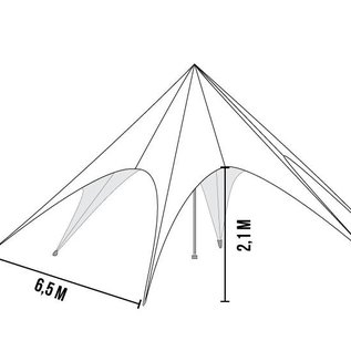 STARTENT 40 WHITE  (zipper)