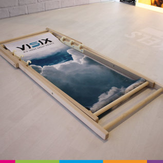 Deckchair with print