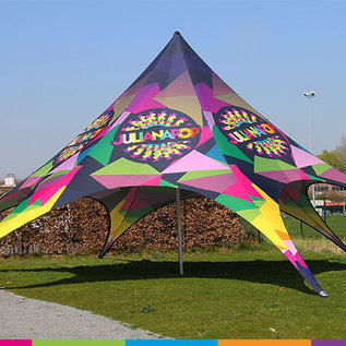 Startent 80 (17M Diameter) - Full colour bedrukt - Velcro