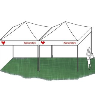 Foldable tent Corona 3x3M