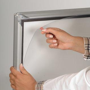 Stoepbord - Aluminum frame met opdruk aan beide zijden.