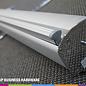 Rollup doorzichtig spatscherm - business hardware