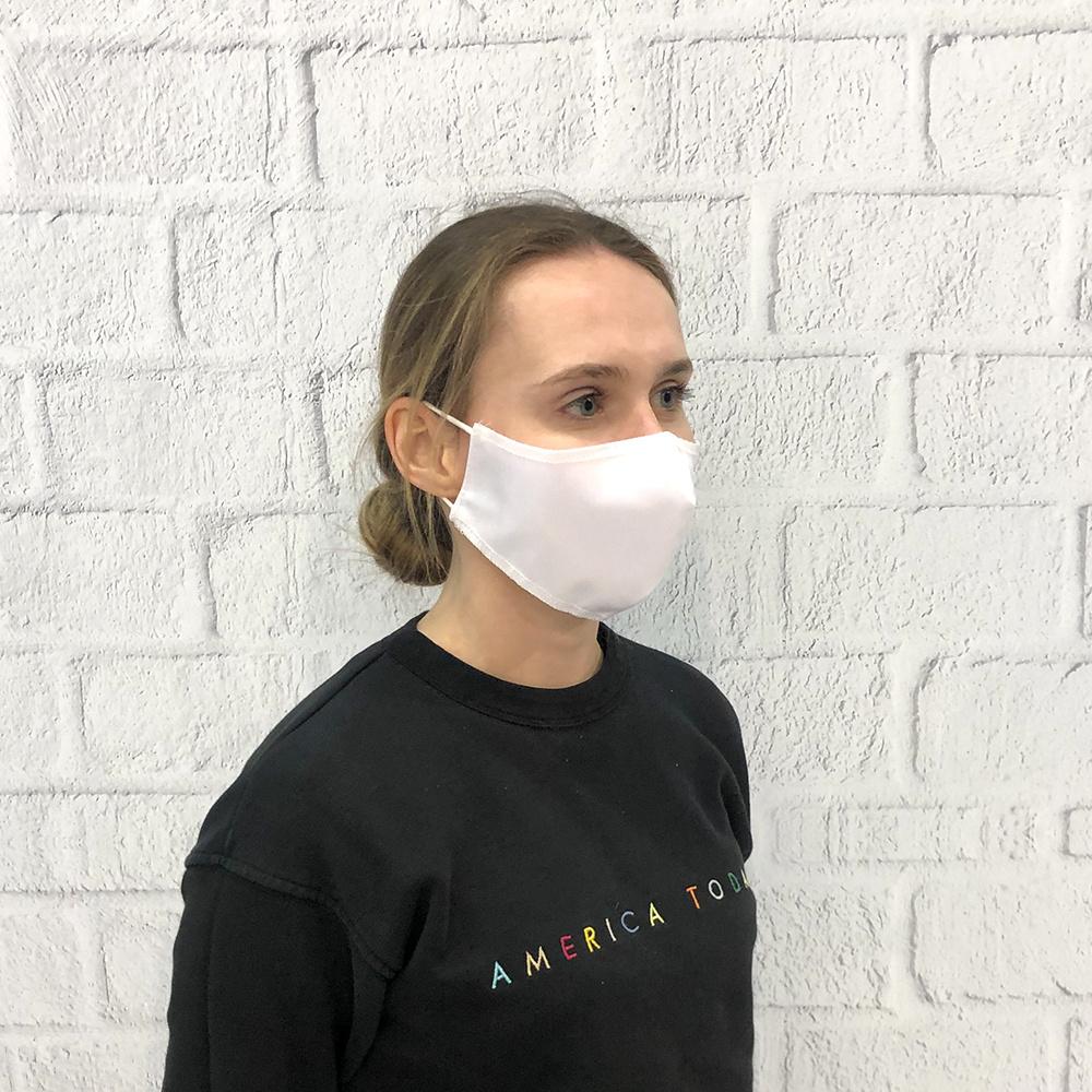 blanco mondmasker