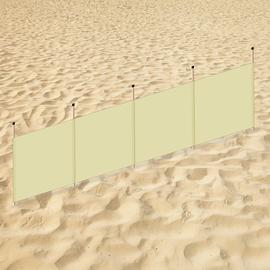 Beach screen standard colour (400x100cm)