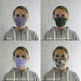 Comfortmasker met ons ontwerp (min 10 stuks)
