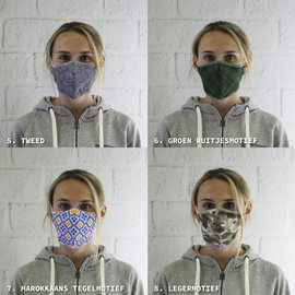 Mouthmasks with our slogan