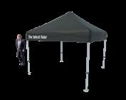 Foldable tent black