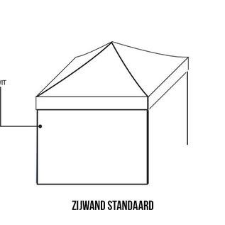 Sidewall 4m white