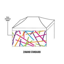 Zijwand 4,5m - Full colour