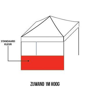 Sidewall 3x1 m (1/2 sidewall) Colour