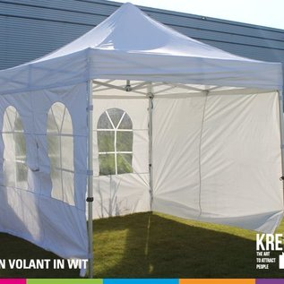 3x3M TENT - ROOF AND VALANCE WHITE