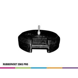 Rubber base 25kg (for fiber pole)