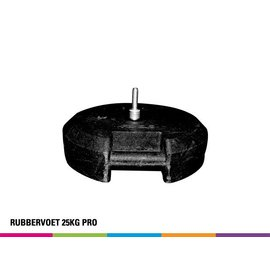 Rubbervoet 25KG (voor fiber mast)