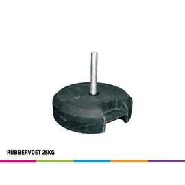Rubber base 25KG (bus)