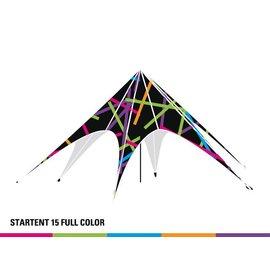 Startent 15 (8M Diameter) - Full colour bedrukt - Velcro