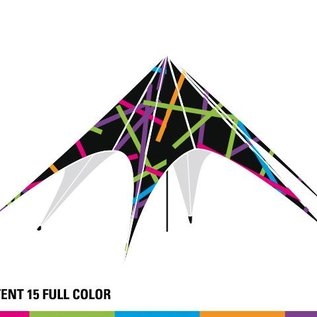 Startent 15 (8M Diameter) - Full colour bedrukt - Velcro