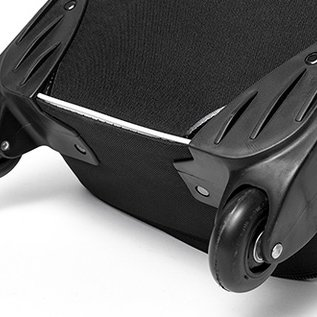 Carry bag  - Transport - 25x119x17cm binnemaat - black with wheels