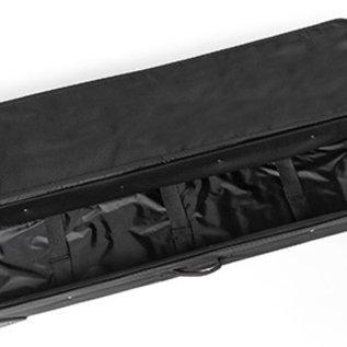 Carry bag  - Transport - 25x119x22cm binnemaat - zwart met wielen en greep