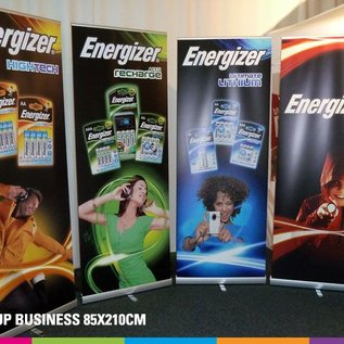 Roll up business (85 - 100 - 120 - 150cm x 210cm)