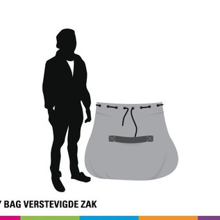 Carry bag - Verstevigde zak - 110x100x50