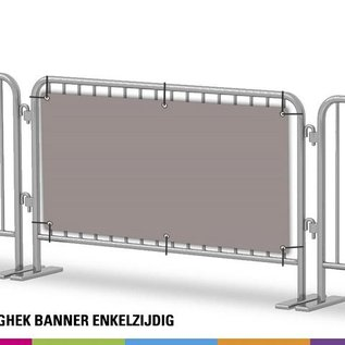 Nadar banner single sided (Unit price for 4 pieces)