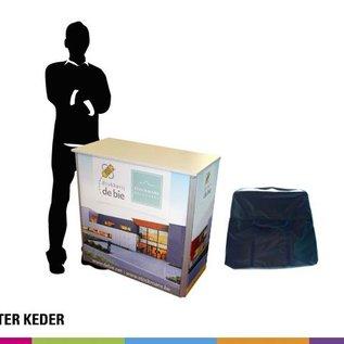 Counter met textieldoek