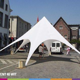 Startent 40 (13M diam) - Wit - Velcro