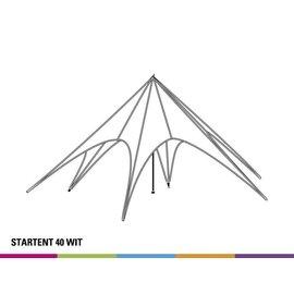 Starshade 40 (13M diam) - White- Velcro