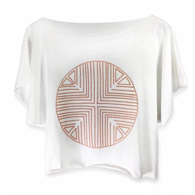 Tshirt Terracota Pima algodón