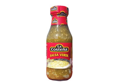 LA COSTEÑA Salsa Verde La Costeña 220ml - Green Sausage lighty spiced