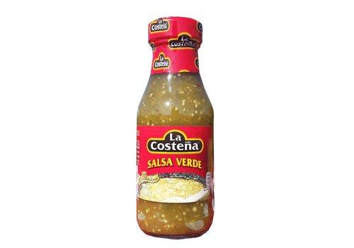 LA COSTEÑA Salsa Verde La Costeña 220ml suavemente picante