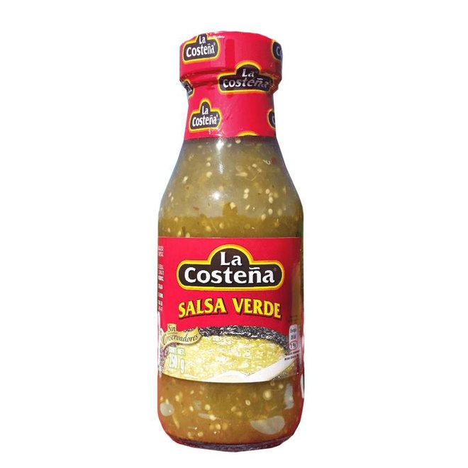 SALSA VERDE - LIGHT SPICY - 220ml - MEXICO