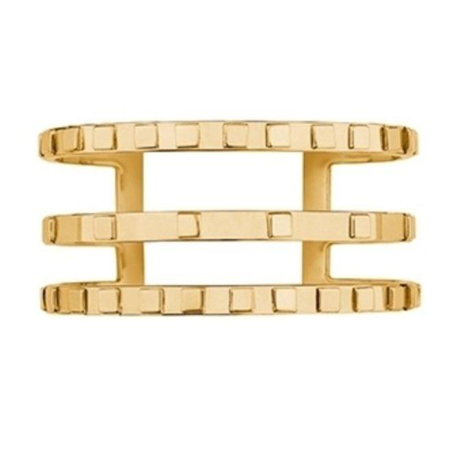 CUFF SALOMÉ - GOLD PLATED 24KT