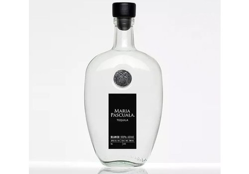 "MARIA PASCUALA PREMIUM TEQUILA ""BLANCO"" SILVER 100% AGAVE FROM MEXICO"