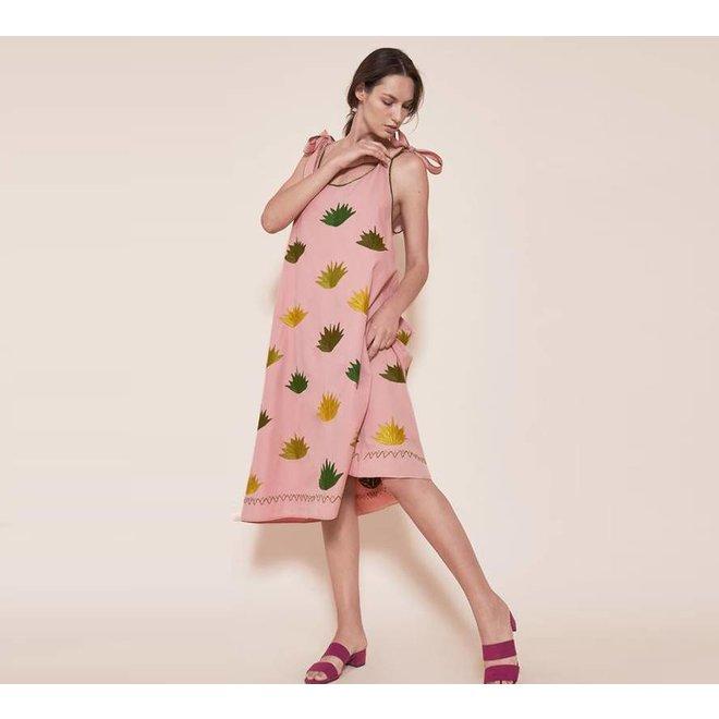"KLEID ""THE AGAVE DRESS"" - MEXIKO"