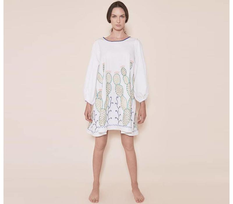 Dress The Nopales Dress White