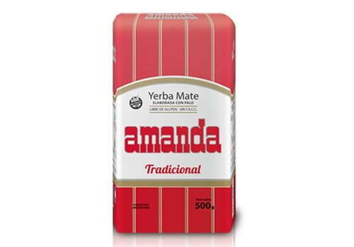 AMANDA MATE TEA WITH RODS ARGENTINA - 500g