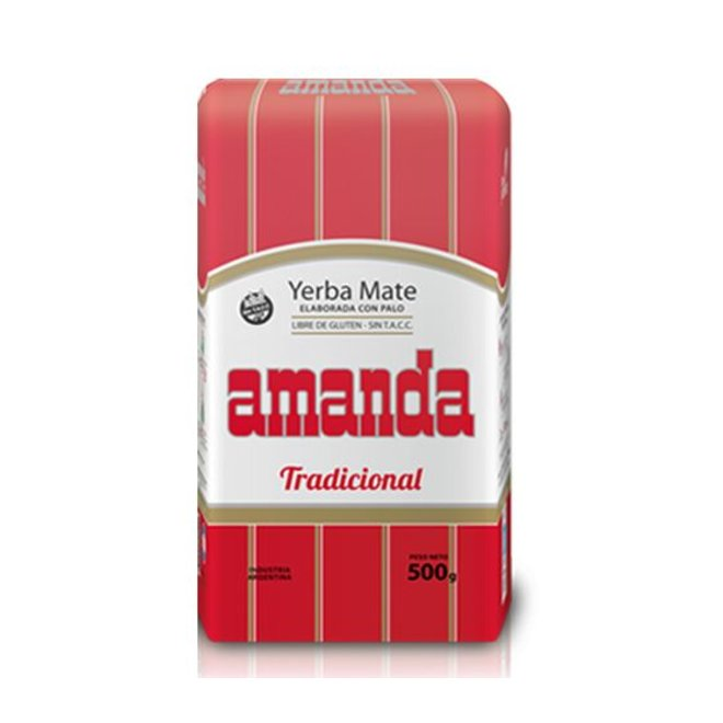 MATE TEA WITH RODS ARGENTINA - 500g